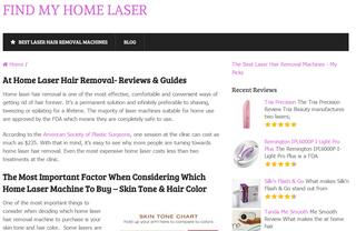 Find My Home Laser