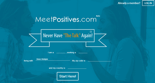 Meet Positives - STD Dating & Herpes Singles Website