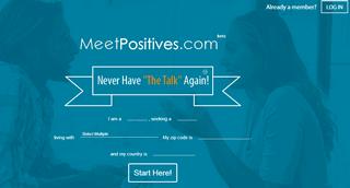 Meet Positives - STD Dating & Herpes Singles Website