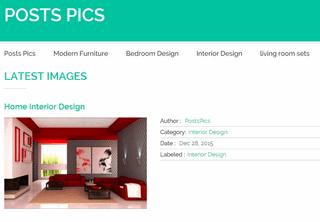 Posts Pics - Furniture - Interior Design