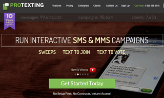 ProTexting - Text Message Marketing