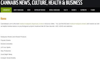 Medical Marijuana Dispensary and Cannabisser.com Strain Reviews