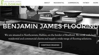 Carpet & Flooring Shop Based In Halifax & Bradford | Benjamin James Flooring