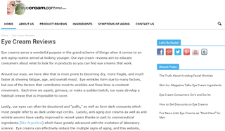 Eye Cream Reviews