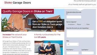 Garage Doors Stoke on Trent