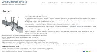 Link Building Services | Linkbuildingservices.org