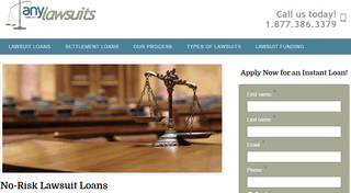 Lawsuit Loans | AnyLawsuits.com