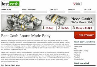 Quick Loans | Quick Cash Loans - FastCash.org