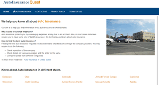 Auto Insurance United States