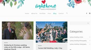 Sydney Wedding Photography Blog - Lightheart Films & Photography
