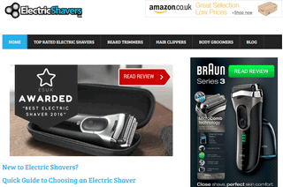 ElectricshaversUK - Men's Top Rated Electric Shavers - Reviewed