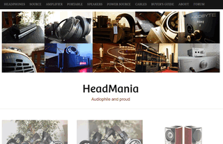 HeadMania - Audiophile and Proud