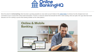 USA Online Banking Login Guide