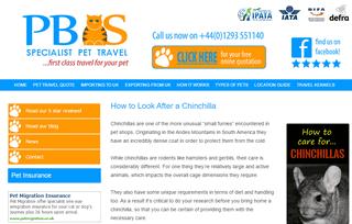 PBS Pet Travel