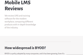 Mobile LMS Reviews