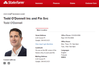 Todd O'Donnell Insurance & Financial Services, Inc. State Farm