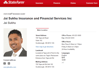 Jai Sukhu Insurance and Financial Services Inc