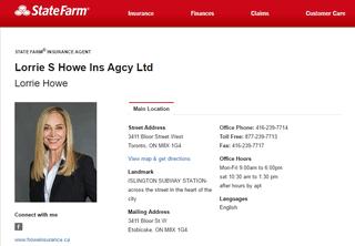 Lorrie Howe Insurance Agency Ltd