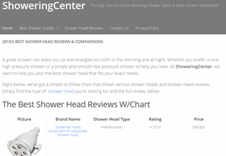 ShoweringCenter - Reviews & Comparisons