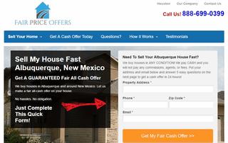 We Buy Houses Albuquerque - Fair Price Offers