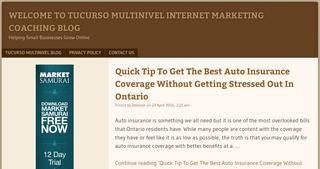 Welcome To Tucurso Multinivel Internet Marketing & Coaching