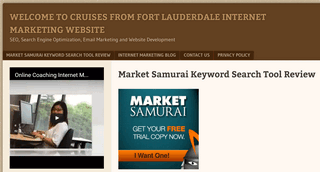 Welcome To Cruises From Fort Lauderdale Internet Marketing Blog