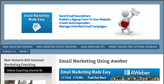 Welcome To Aweber Email Marketing