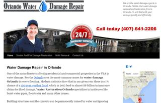 Orlando Water Damage Repair