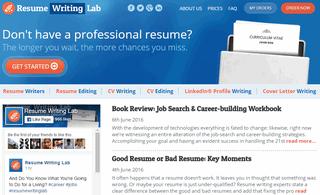 Resume Writing Lab blog