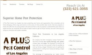 A Plus Pest Control of Los Angeles