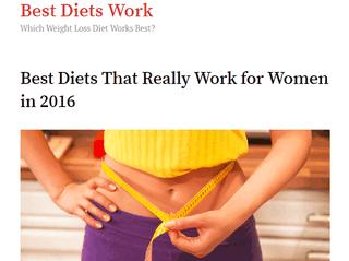 Best Diets That Work