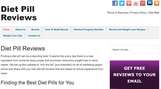 Diet Pill Reviews