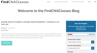 FindCNAClasses - Everything HealthCare