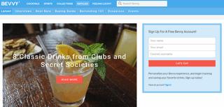 Bevvy - Spirited adventures for the modern drinker