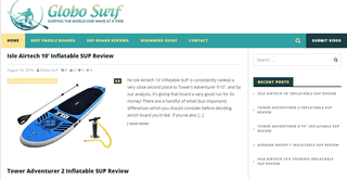 Globo Surf - Best Paddle Boards & more