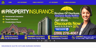 Car, Home, Life, Business Insurance Quote In Durham Ontario