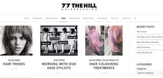77 The Hill hair blog