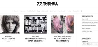 77 The Hill hair blog