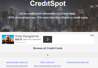 CreditSpot: Credit Cards Information, Reviews, Tutorials & More