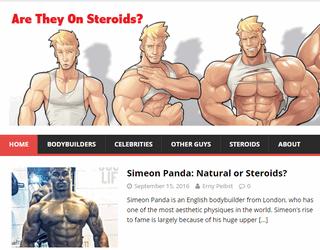 AreTheyOnSteroids.com