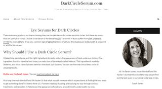 Dark Circle Serum