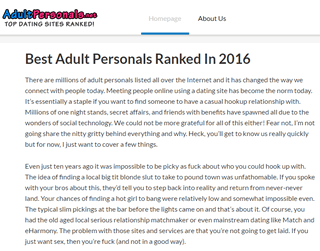 Adult Personals