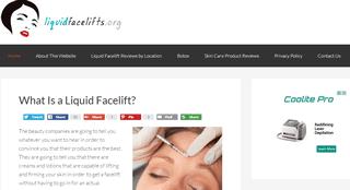 Liquid Facelifts