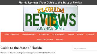 Florida Business & Destination Reviews