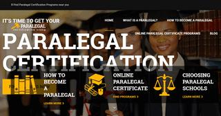 ParalegalCertificationScoop.com