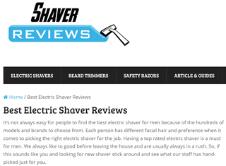 Shaver Review