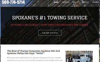 Towing Spokane WA