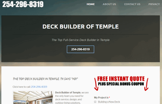 Deck Builder Temple Texas