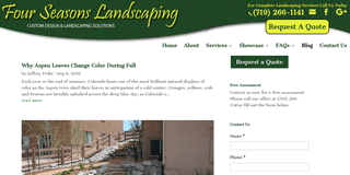 Colorado Springs Landscaping Blog