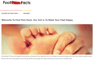 Foot Pain Facts